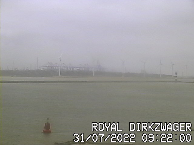 Webcam Waterweg Hoek van Holland Seinpost