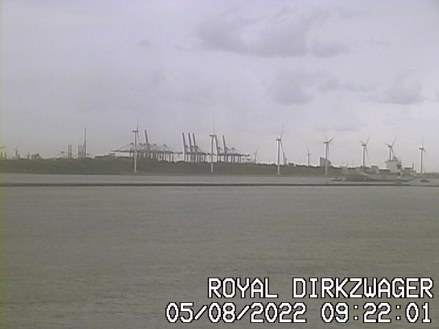 Royal Dirkzwager Hoek van Holland Webcam